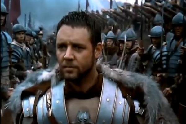 Russell Crowe from Gladiator