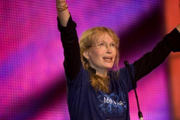 Mia Farrow lost two children