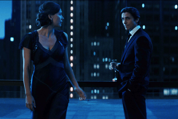 Christian Bale and Maggie Gyllenhaal from The Dark Knight