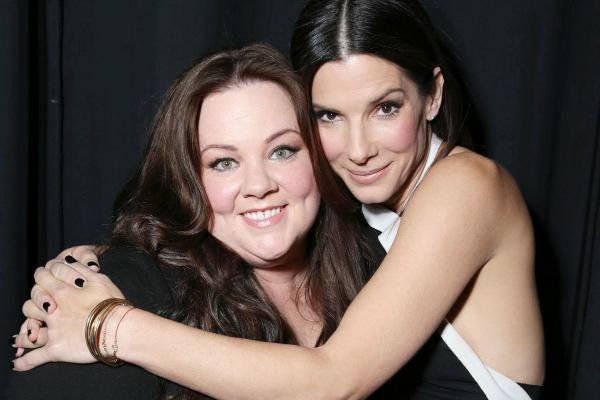 Sandra Bullock met Melissa McCarthy