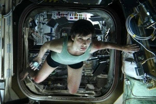 Sandra Bullock from Gravity