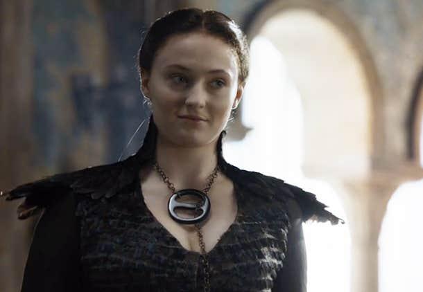 Sansa gets a new attitude.