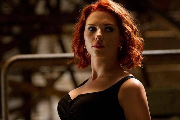Scarlett Johannson from The Avengers scarlett johansson romain dauriac scarlett johansson ryan reynolds scarlett johansson married wedding
