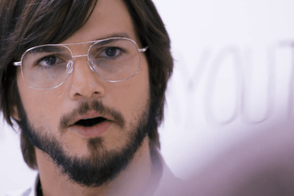 Ashton Kutcher as Steve Jobs in Jobs losing virginity first time sex