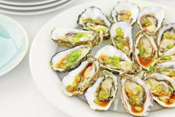 Soy and Sesame Oysters