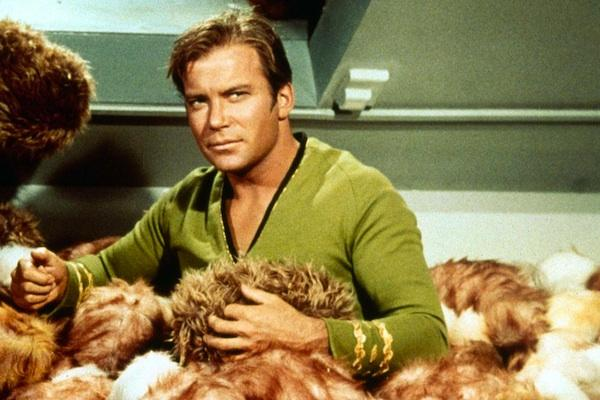William Shatner from Star Trek