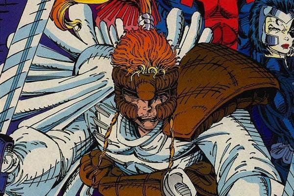 shatterstar from X-Force 1 Marvel comics lgbt superheroes super hero lgbtq gay lesbian bisexual