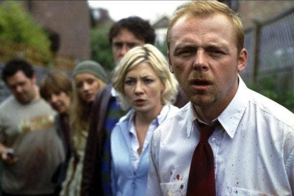 Simon Pegg from Shaun of the Dead