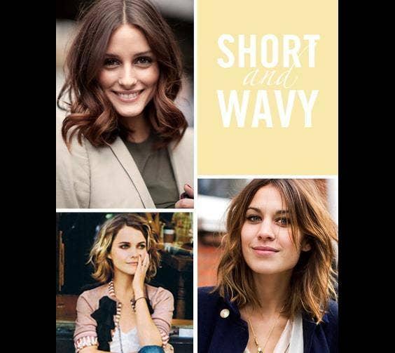 Hair: Short And Wavy