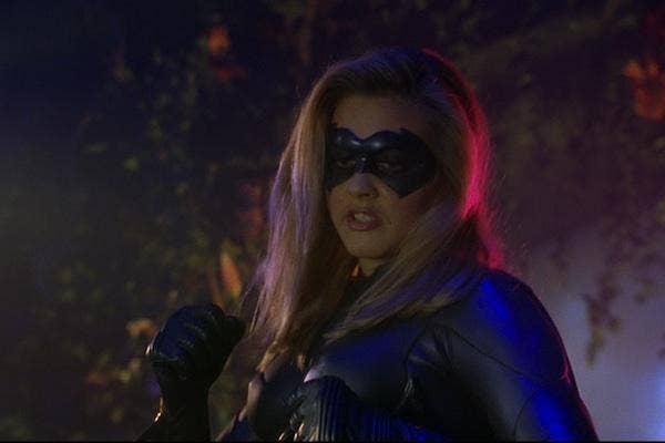 Alicia Silverstone from Batman and Robin