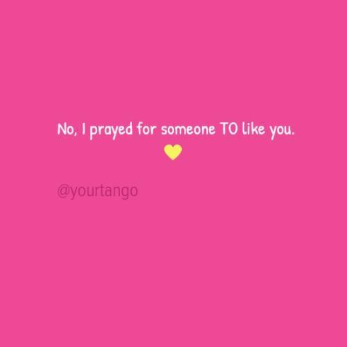 someone to like you