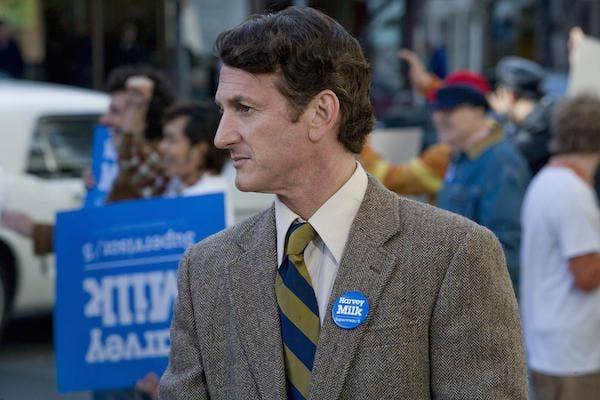 Sean Penn from Milk