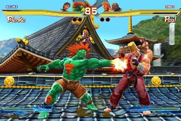 still from Street Fighter vs Tekken