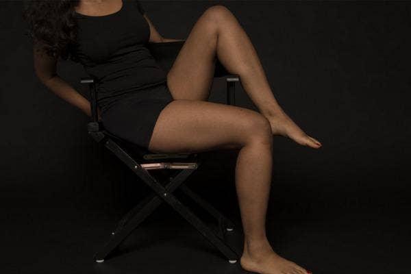 Sturdy thighs.
