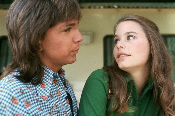 Susan Dey and David Cassidy Keith Partridge Laurie Partridge Partridge Family