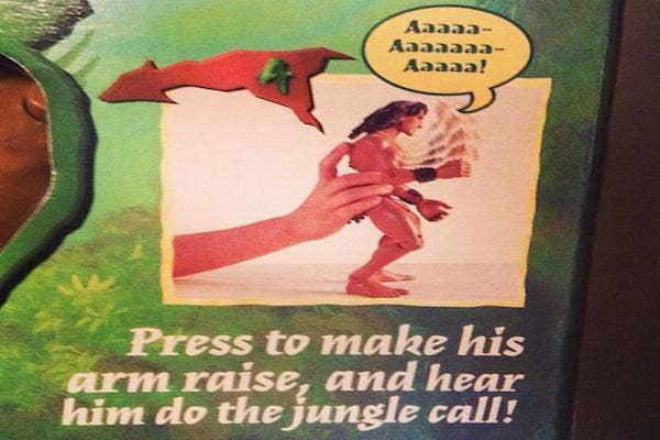 Yelling Tarzan from Mattel