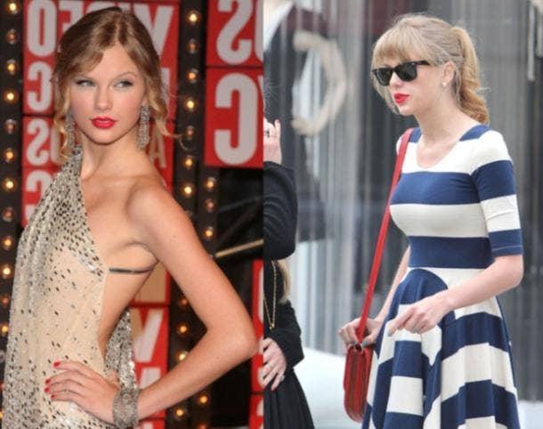 Taylor Swift boob job