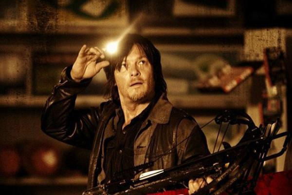 Norman Reedus as Daryl Dixon on 'The Walking Dead' AMC
