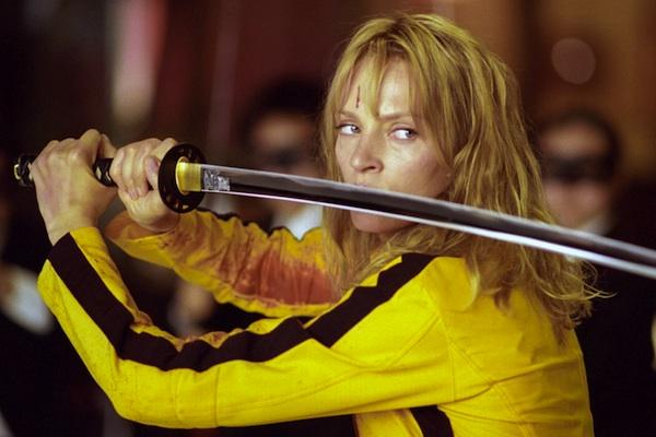Uma Thurman from Kill Bill