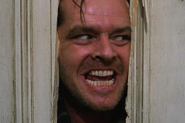 Jack Nicholson from The Shing