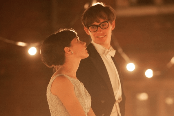 The Theory of Everything eddie redmayne stephen hawking jane hawking felicity jones