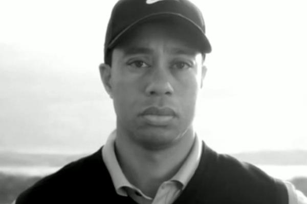 Tiger Woods from Nike Ad