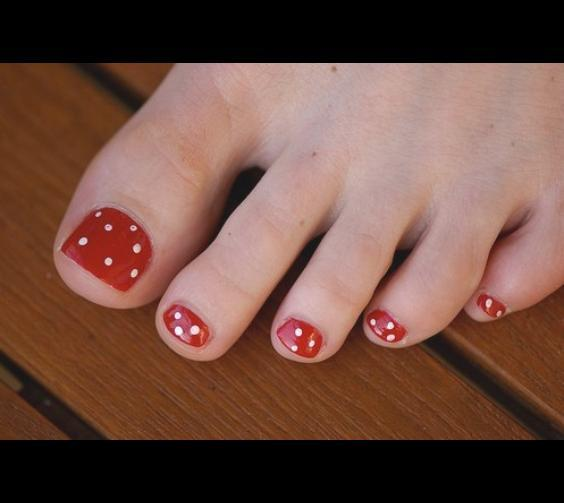 But Go Nuts With Your Pedicure, If You Wish