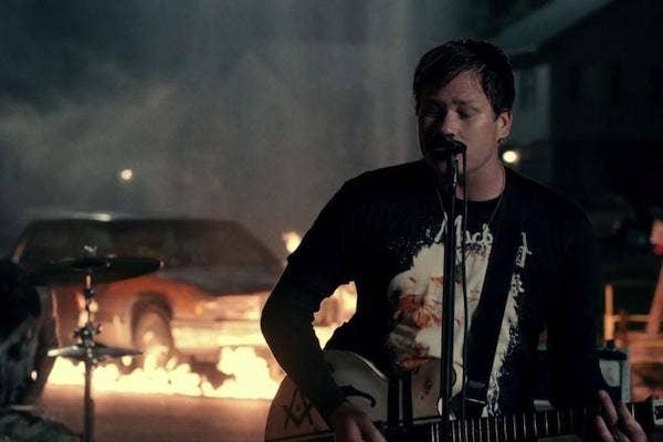 Tom DeLonge from Blink 182 Up All Night