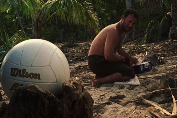 Tom Hanks from Castaway