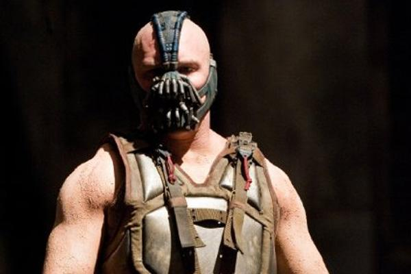 """Tom Hardy as Bane in """"The Dark Knight Rises"""""""