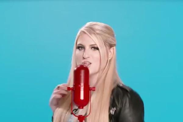 Meghan Trainor from Lips Are Movin