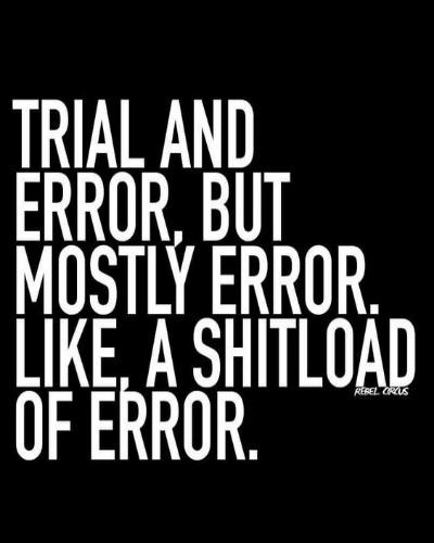 trial and error quotes