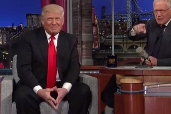 Donald Trump on Late Night with David Letterman