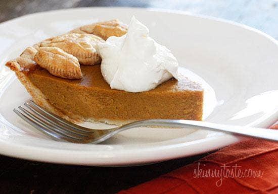 Skinny Pumpkin Pie