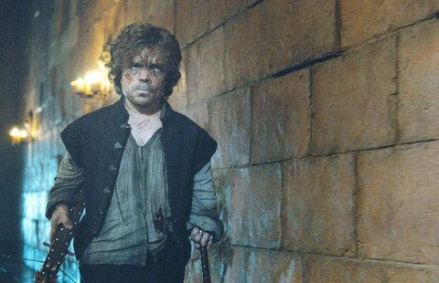 Tyrion gets a crossbow.