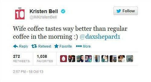 Dax Shepard & Kristen Bell Are Married!