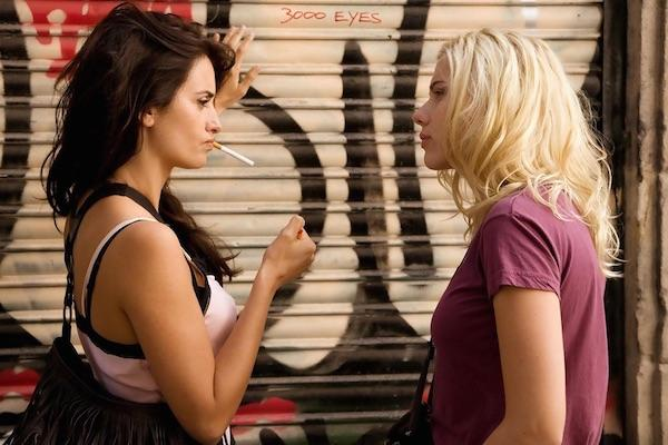 3. Penelope Cruz and Scarlett Johannsson from Vicky Christina Barcelona
