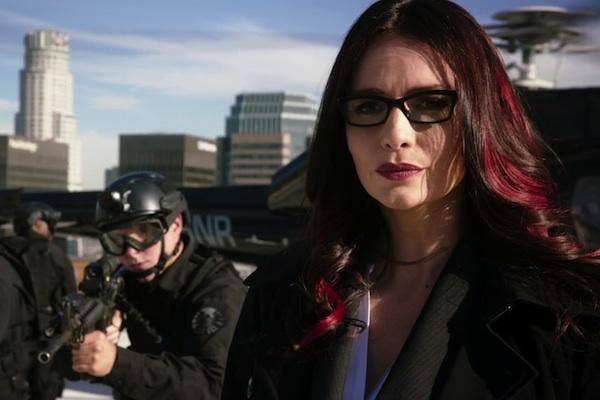 Victoria Hand from Agents of SHIELD Marvel comics lgbt superheroes super hero lgbtq gay lesbian bisexual