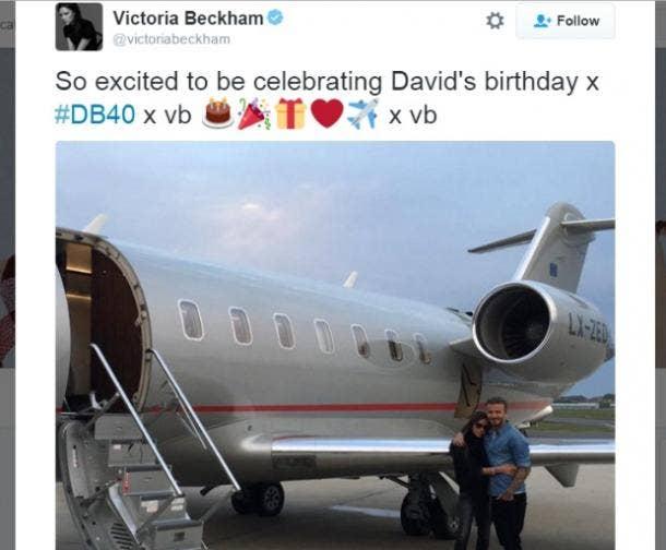 9. Victoria and David Beckham