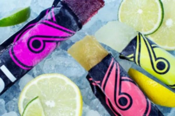 vodka ice pop treats