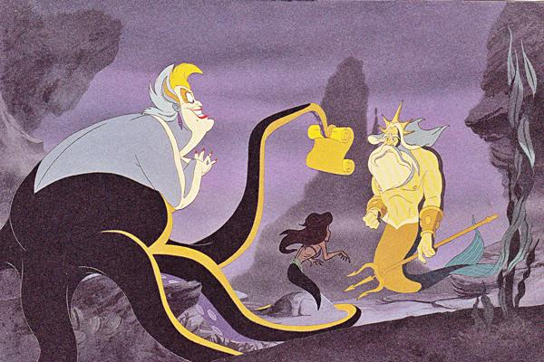 ursula, the little mermaid, the little mermaid ursula, the little mermaid king triton, king triton, king triton ursula, ursula sea witch, the little mermaid disney, disney the little mermaid, disney, disney villain, disney villains, ursula disney villain