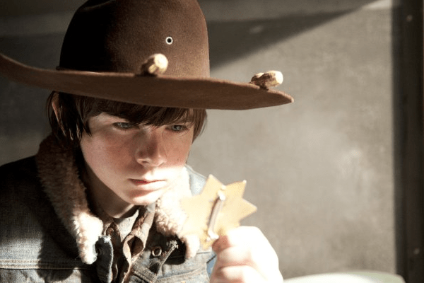 The Walking Dead carl grimes amc