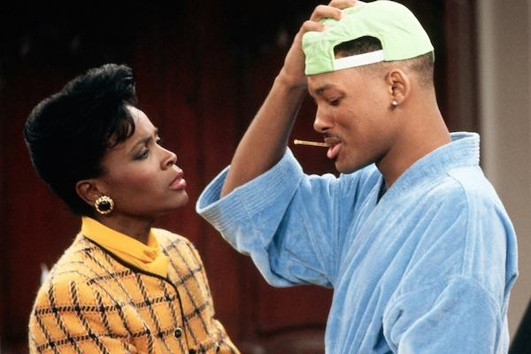 Will Smith and Janet Hubert-Whitten from The Fresh Prince of Bel Air
