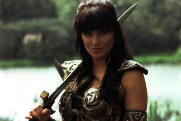 Lucy Lawless in Xena: Warrior Princess