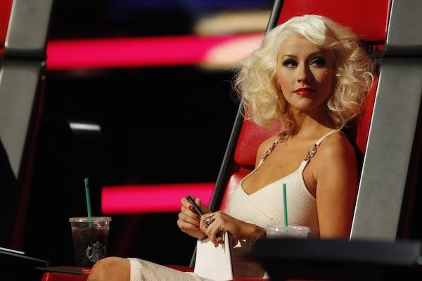 Christina Aguilera from The Voice