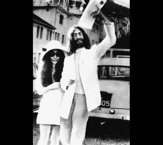 Yoko Ono's Dress