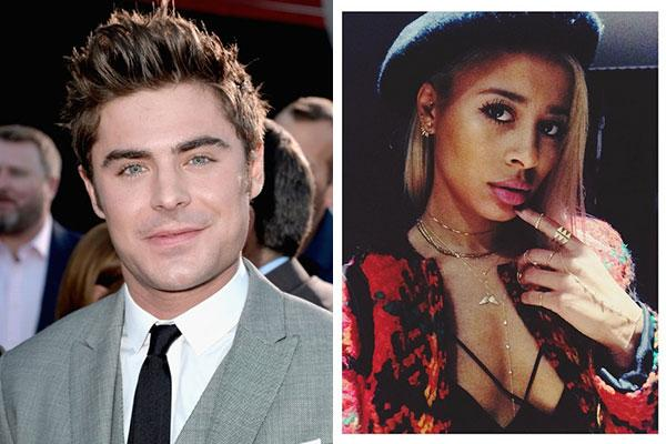 Zac Efron and Sami Miro