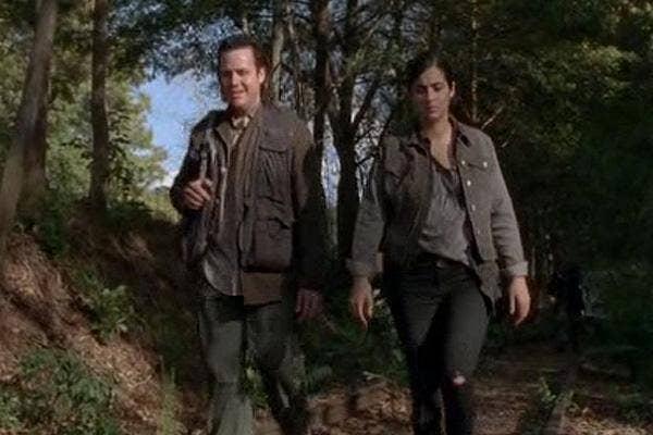 AMC The Walking Dead Eugene Porter Tara Alanna Masterson Josh McDermitt