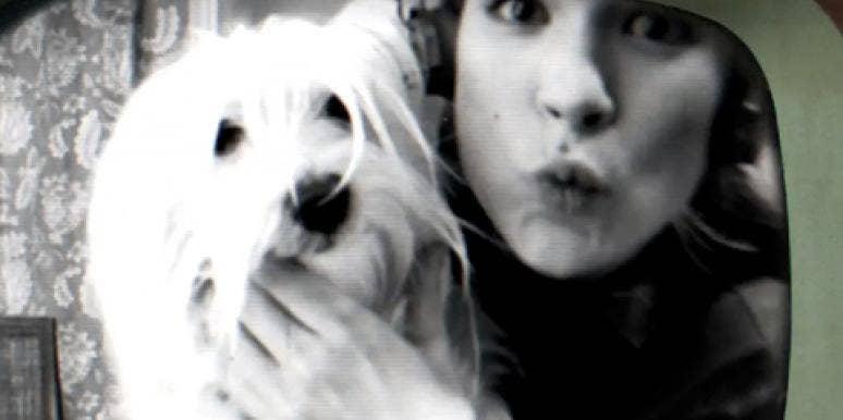 Alice Johnson with dog