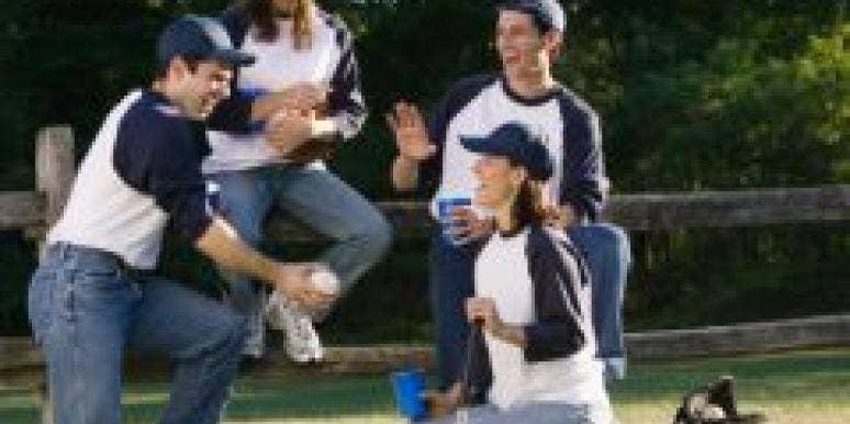 baseball couples